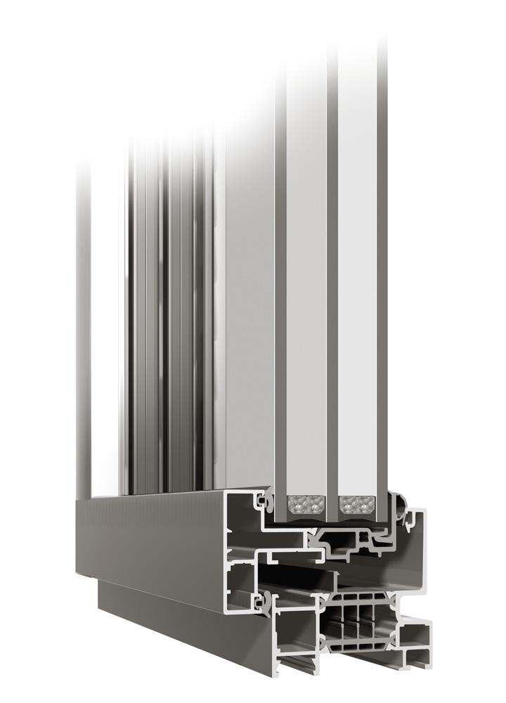 Ventanas k-line de aluminio