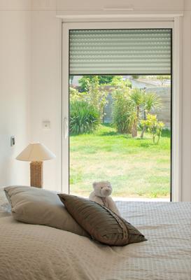 ventanas con persianas