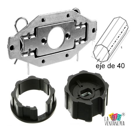 adaptadores-de-motor de persiana para eje de 40 mm