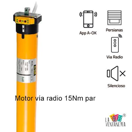 motor de persiana vía radio