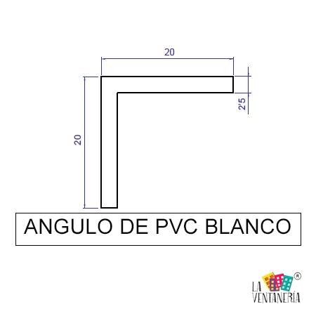Ángulos de PVC