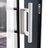 Cierre de puerta corredera de aluminio kline