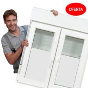 Oferta de ventanas de PVC con triple vidrio