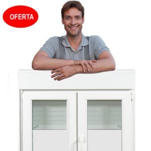 Oferta en Ventanas de PVC con tres vidrios gratis