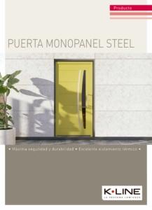Puertas modelos Steel